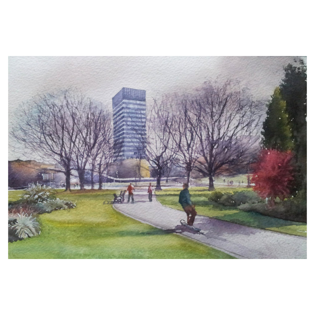 Weston Park Greetings Card