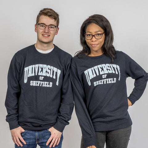 Essential University Of Sheffield Sweatshirt Navy