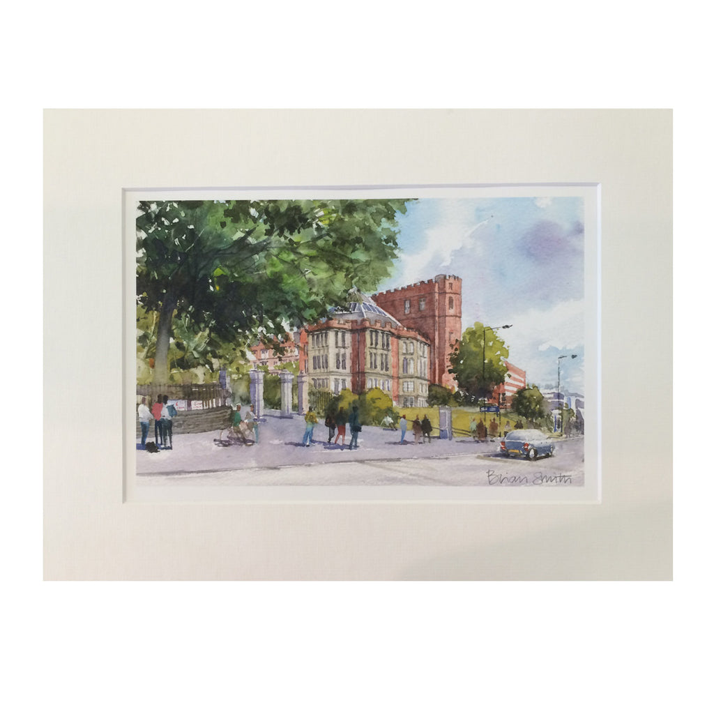 Firth Court Print