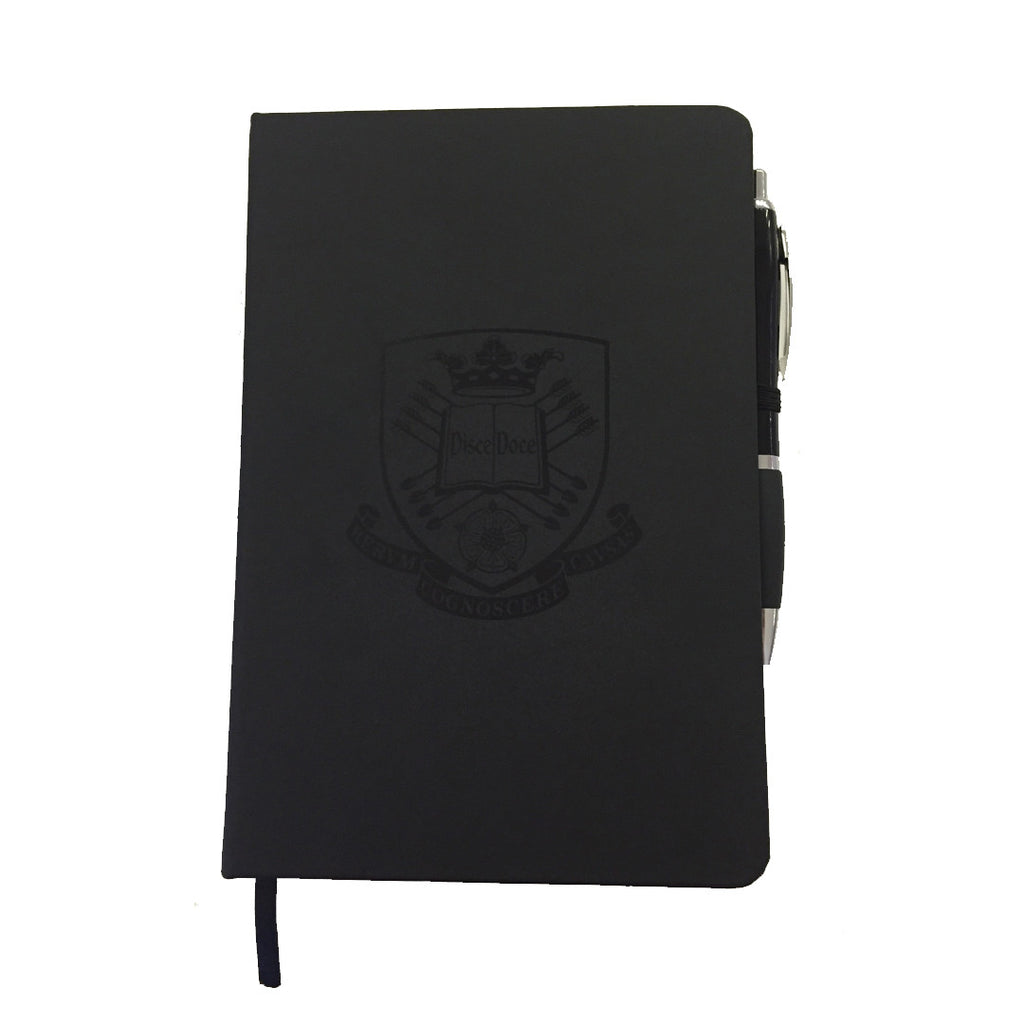 Crested Notebook with Pen