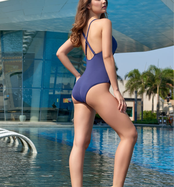 Twist Tie One Piece Swimwear