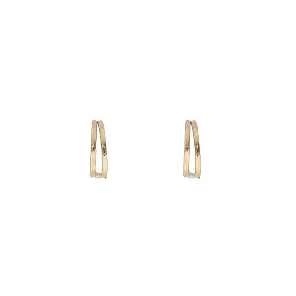 Golden Loop Earrings (14K Gold)