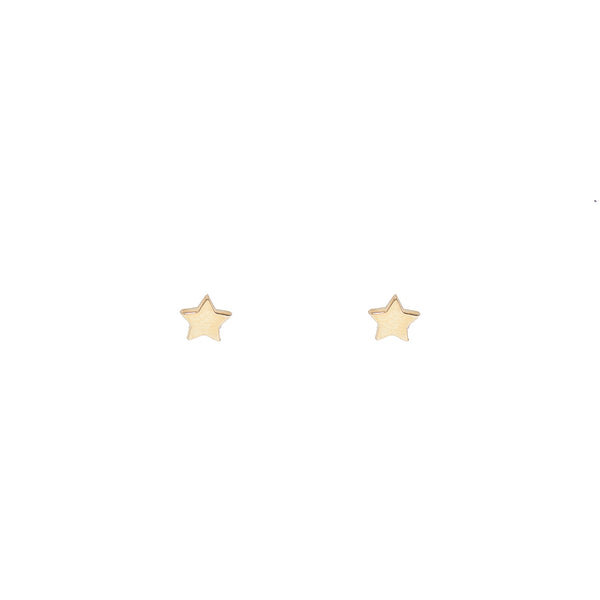 Gold Shining Star Earring (10K Gold)