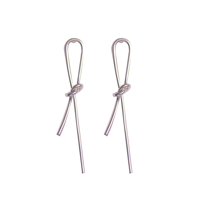 Threaded Loop Earrings
