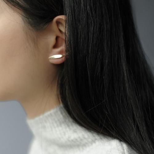 Ellipse Sectional Earrings