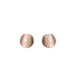 Starburst Disc Earrings