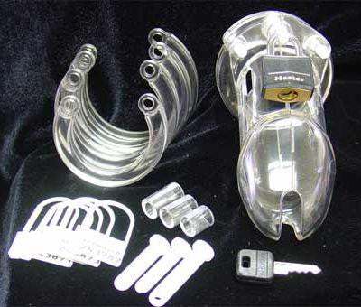 CB-6000S Male Chastity Device - Erotic Superstore