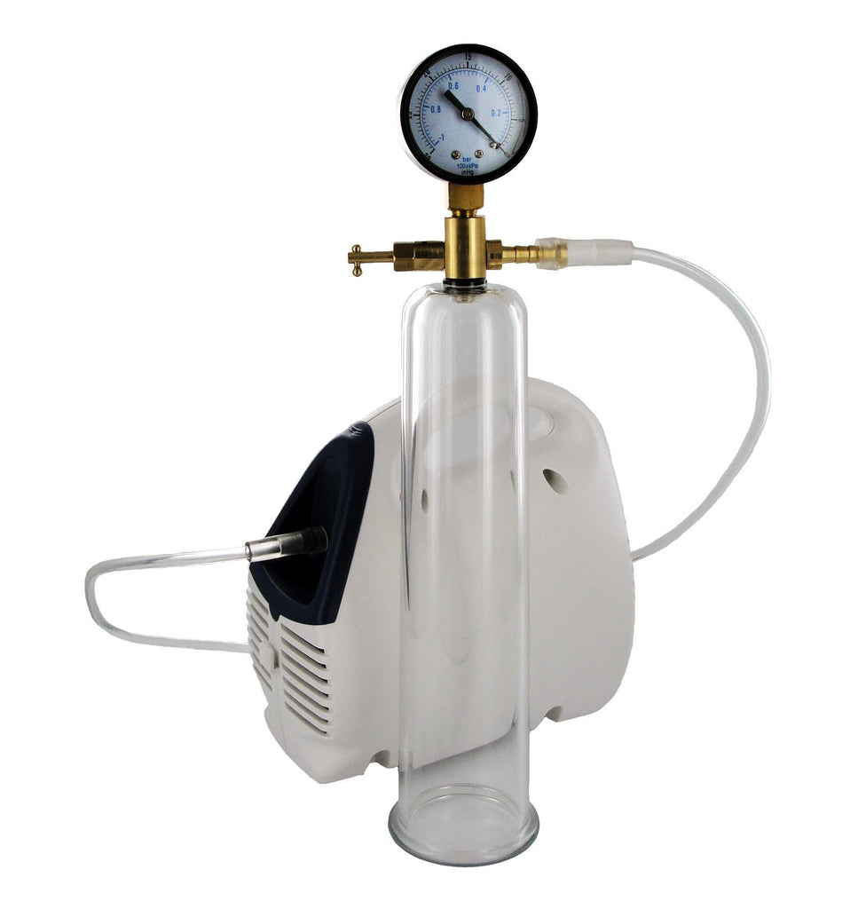 Bionic Electric Pump with Cylinder and Gauge - Erotic Superstore