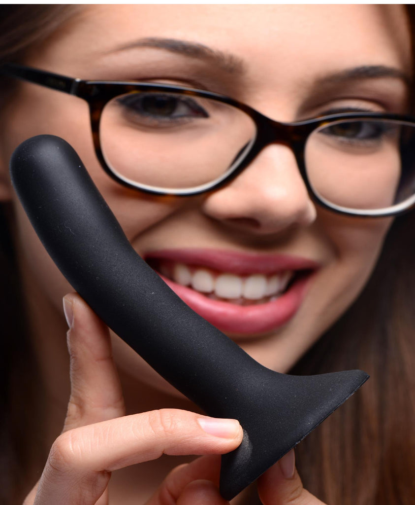 Black Silicone Strap-On Dildo - Small - Erotic Superstore