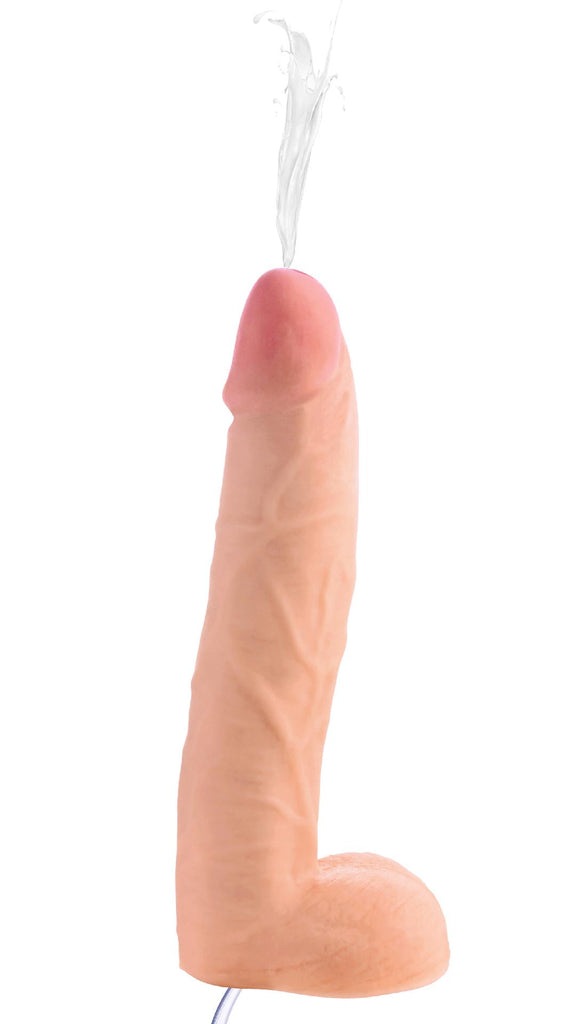 10 Inch Realistic Dual Density Squirting Dildo