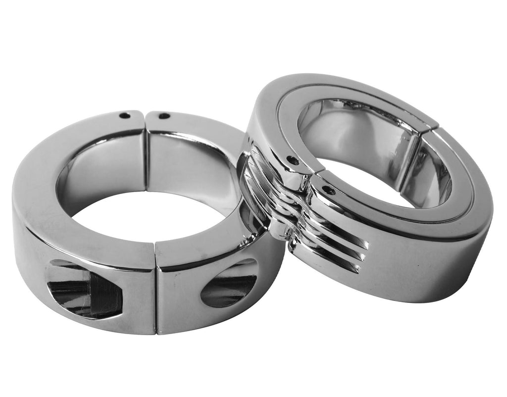 Locking Hinged Cock Ring Size : L-L - Erotic Superstore