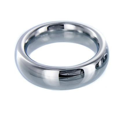 Stainless Steel Cock Ring Size : M-Medium - Erotic Superstore