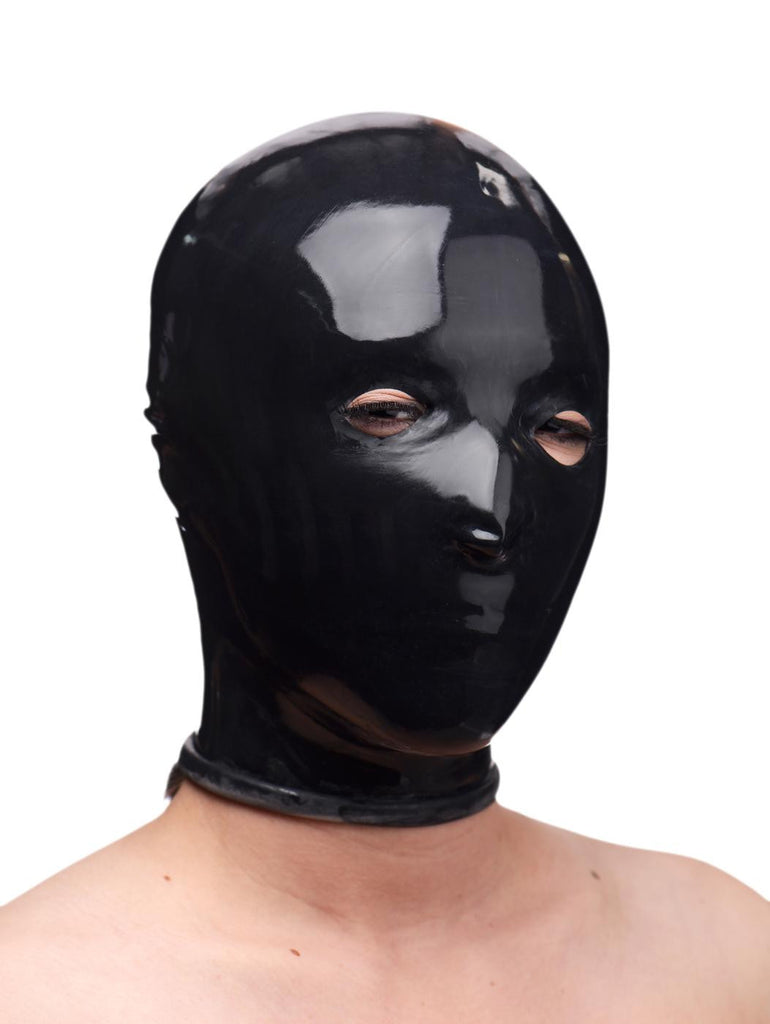 Rubber Slave Hood Color : BLK - Erotic Superstore
