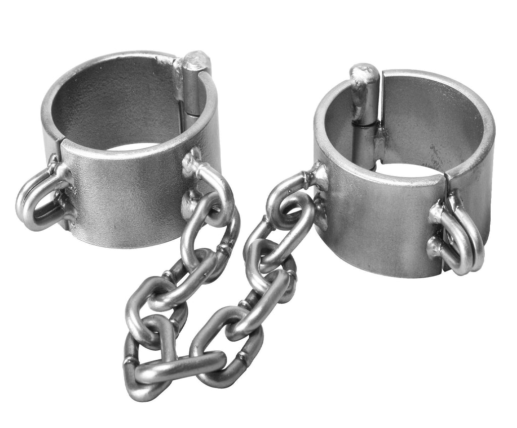 Steel Manacles and Shackles Size : W35-3andahalf - Erotic Superstore