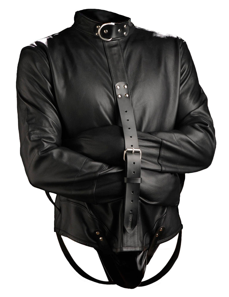 Strict Leather Premium Straightjacket Size : Large-Large - Erotic Superstore