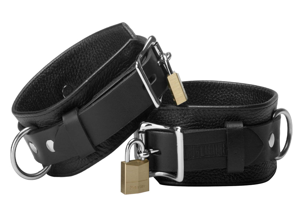 Strict Leather Deluxe Locking Cuffs Size : WRIST-Wrist - Erotic Superstore