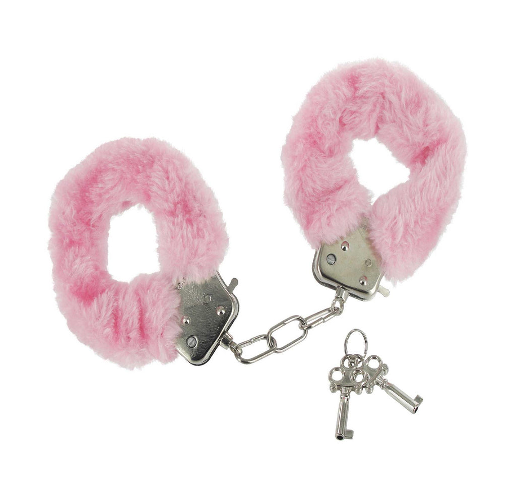 Courtesan Handcuffs - Pink - Erotic Superstore