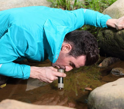Action MINI Water Filtration System Portable Water Purifier Outdoor Survival