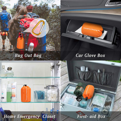 action emergency sleeping bag survival Waterproof Reusable Thermal