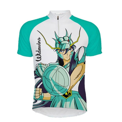 Actionjerseys Pure Aero Series F1 Race Cycling Jerseys Saint Seiya cartoon