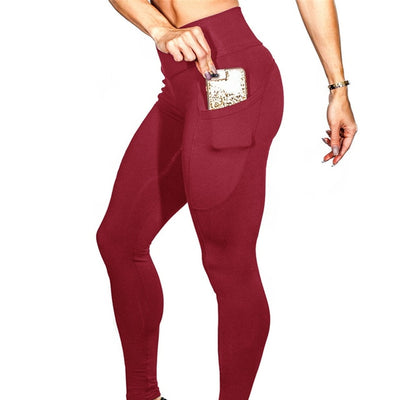 Actionjerseys High Waisted Yoga Leggings