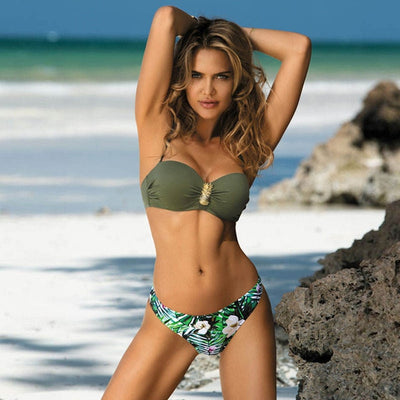 Actionjerseys Modern Breezy Diva Series Bikini Set Swimwear