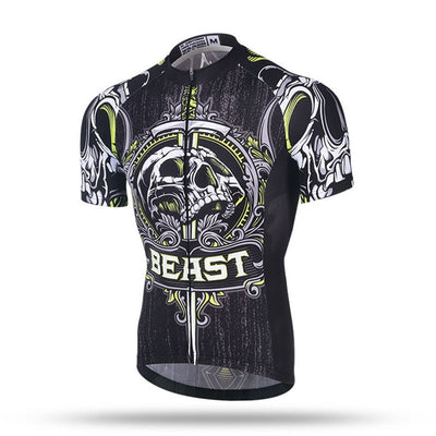 Actionjerseys Pure Aero Series GTR Pro Team Cycling Jerseys Skull