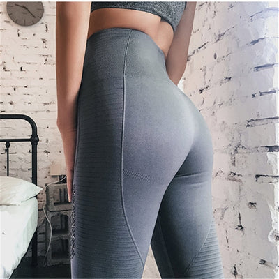 Actionjerseys High Waisted Joggers Leggings Yoga Pants Super Stretchy