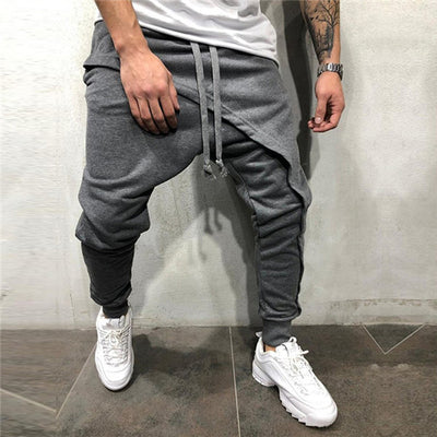 Actionjerseys Asymetric Skateboarding Cross Harem Pants