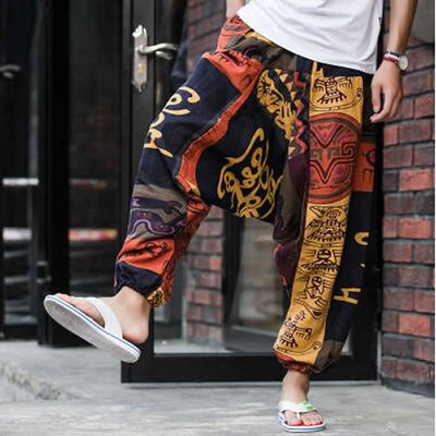 Actionjerseys Baggy Skateboarding Cross Harem Pants
