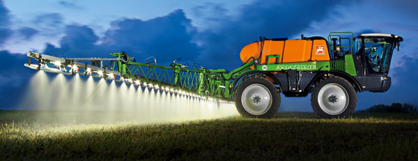 amazon sprayer at night