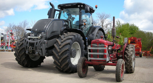 Valtra S and bm320 tractors BRM-SHOP