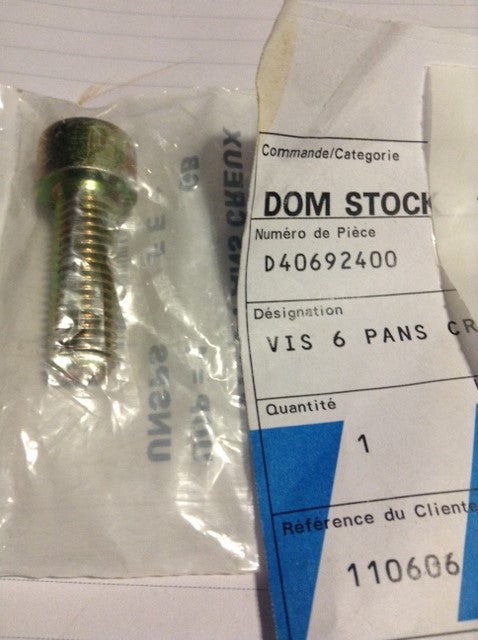 Cap Head Screw M.10 Thread D40692400 MF Combines - BRM-SHOP.COM