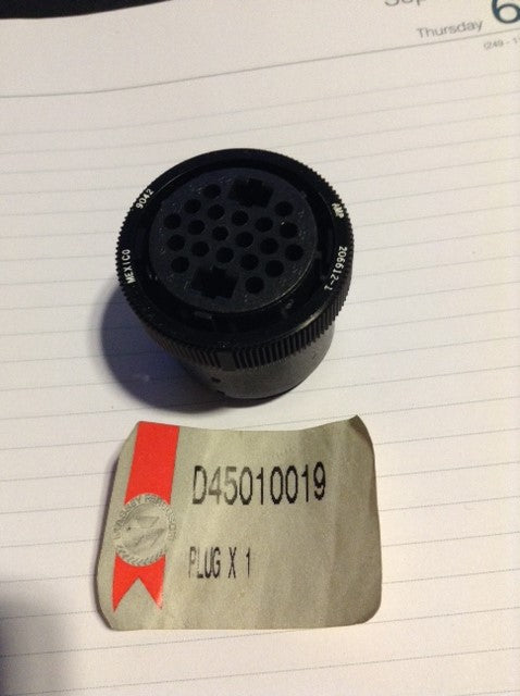Electrical Plug Casing D45010019 MF Combines