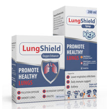 Load image into Gallery viewer, Lungshield (30 capsules) & Lungshield (Syrup 200ml) (One of each)