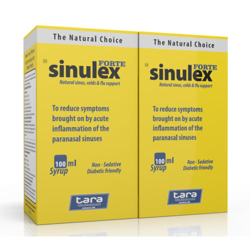Sinulex Forte Syrup 100ml (2 Bottels)