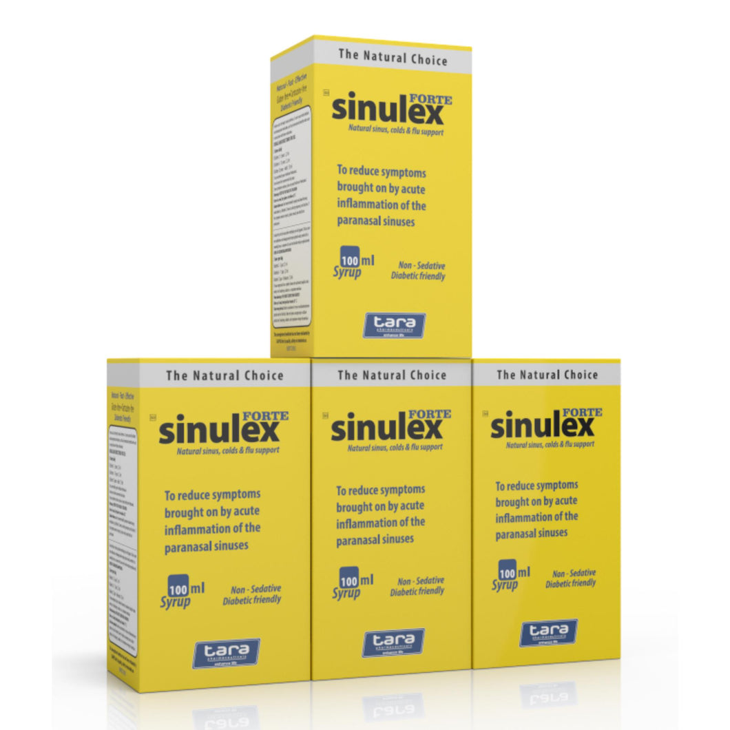 Sinulex Forte Syrup 100ml (4 Bottels)