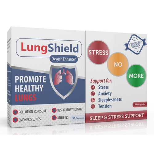 Lungshield & Stressnomore Combo (One of each)