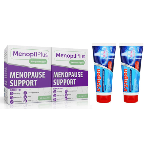Menopil Plus & Pyngon Cream Combo (Two of each)