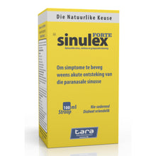 Load image into Gallery viewer, Sinulex Forte Syrup 100ml