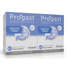Load image into Gallery viewer, Progast Digestive Power capsule 60's  (2 Boxes)