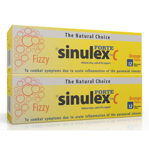 Sinulex Forte Effervescent Tablets 12's (24 Tablets)