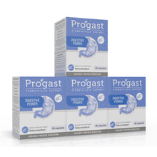 Load image into Gallery viewer, Progast Digestive Power capsule 60's  (4 Boxes)
