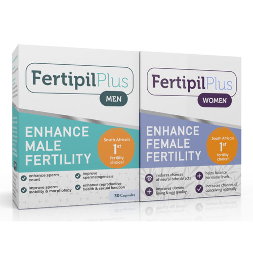 Fertipil Plus Women and Men COMBO (1 of each) (Free delivery in SA, T&C apply)