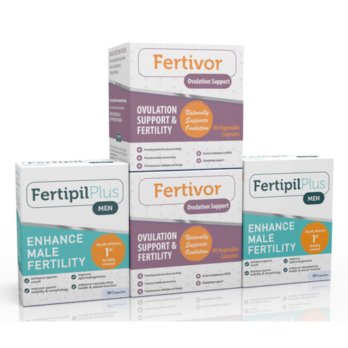 Fertivor - Fertipil Plus for Men COMBO (Two of each) (Free delivery in SA, T&C apply)