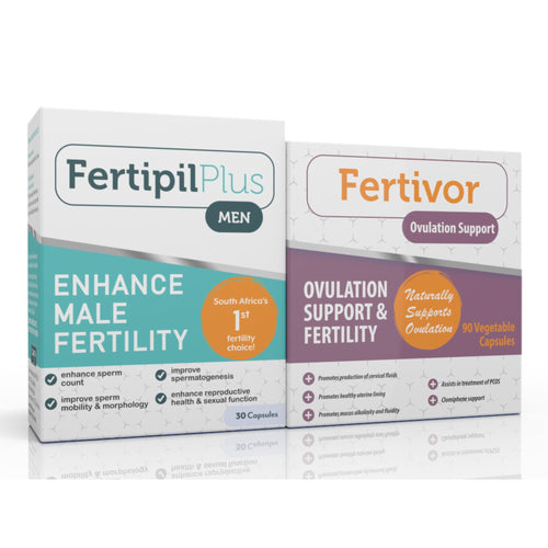 Fertivor - Fertipil Plus for Men COMBO (One of each) (Free delivery in SA, T&C apply)