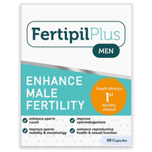 Load image into Gallery viewer, Fertipil Plus for Men (30 Capsules) 2 Boxes (Free delivery in SA, T&C apply)