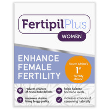 Load image into Gallery viewer, Fertipil Plus Women and Men COMBO (1 of each) (Free delivery in SA, T&C apply)