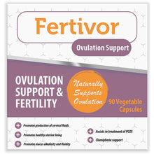 Load image into Gallery viewer, Fertivor Ovulation Support 4 Boxes (Free delivery in SA and Africa, T&C apply)