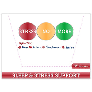 Stressnomore (32 Sachets with 6 Capsules each) 2 Boxes